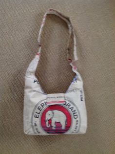 Elephant shoulder handbag  purse made from by UnCommonlyGoodGoods, $25.00
