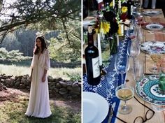 Vestido hippie de novia/ Hippie wedding dress