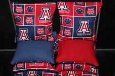 University of ARIZONA WILDCATS Cornhole Bags