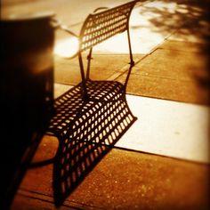 Phoneography Challenge: Texan summer shadows.