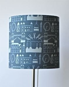 London Print Lampshade by Clementine & Bloom