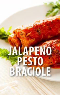 Mario Batali made his Jalapeno Pesto Braciole recipe and Michael Symon made his Grilled Escarole with White Beans recipe for The Chew's Barbecue Secrets Revealed episode.  http://www.recapo.com/the-chew/the-chew-recipes/chew-jalapeno-pesto-braciole-recipe-grilled-escarole-white-beans/