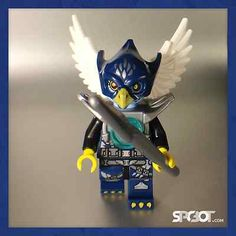 LEGO CHIMA - EGLOR EAGLE from 70013 EQUILAS ULTRA STRIKER - Minifigure Only, NEW #legoEbay #ebay #lego #chima #legoChima