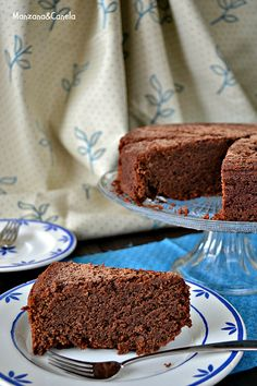 Manzana&Canela : Pastel de chocolate de Mississippi