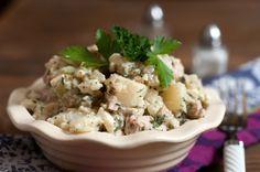 Potato-Chicken-Egg Salad