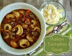 Italian Tortellini Soup | Miss Information