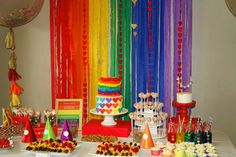 Rainbow table and backdrop
