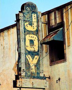 #rustic #sign #joy