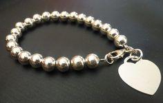 Beaded Bracelet (Sterling Silver)