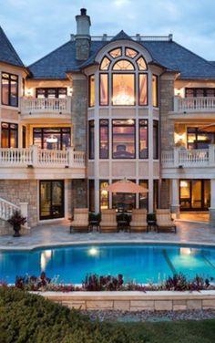 exterior homes mansion, dream homes, real estates, oakvill luxuri, luxury real estate, luxuri real, houses for sale, dream houses, estat wwwoakvillereal
