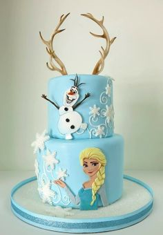 Disney Frozen cake by Cake Nouveau