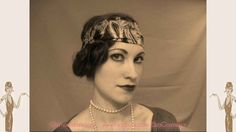 7 Steps to Perfect 1920s Flapper Lips Tia Semer's 1920s cupids bow lips makeup tutorial - Read more ...........