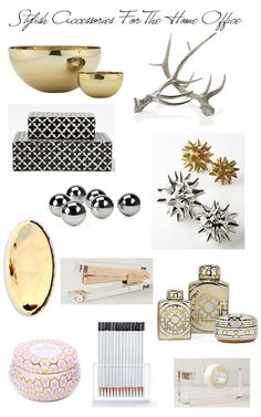 Stylish accessories for the home office | STYLE'N