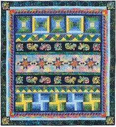 Six Weeks in Bali Quilt Kit - Cheryl Malkowski for Timeless Treasures