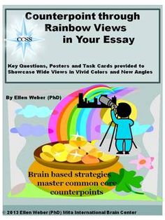Display images of rainbows to help all students reach higher, master common core standards and enjoy writing thoughtful essays. Find questio...