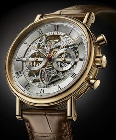 Breguet Classique Chronograph 5284 - Only 1 in the World. Sold at Only Watch 2013 Auction for € 120.000,00.00 auction, classiqu chronograph, men watch, style, breguet watch, breguet classiqu, timepiec, watch 2013, 5284