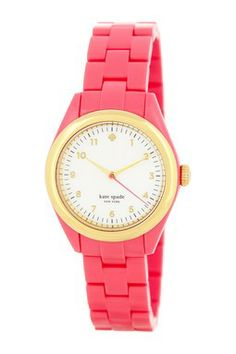 women's seaport pink watch