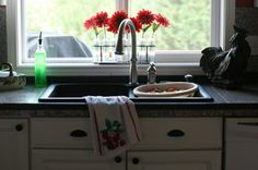 kitchen makeover with @Barbara Whitlow Bills McAfee's  #lowescreator  Love this photo!