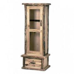 aspen 6 gun cabinet cabin decor