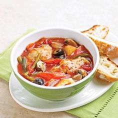 Layer this chicken and vegetable stew recipe in your slow cooker and let the delectable aroma greet you when you arrive home to a ready-made meal.
