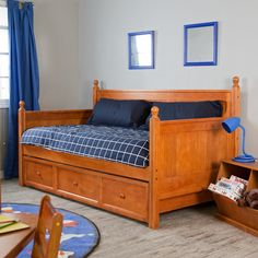 Have to have it. Casey Daybed with Free Mattress - Honey Maple  $417.98