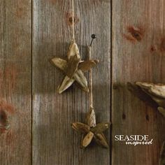 Driftwood star ornament. Our star ornaments are hand-made using natural driftwood.