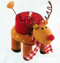 No l on pinterest bricolage reindeer and christmas trees - Photophore noel maternelle ...
