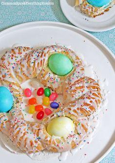 Italian Easter Egg Bread...