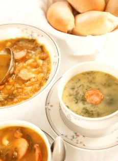 Caldo Verde soup (recipe in english)