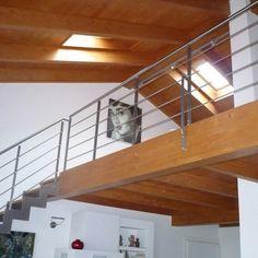 Garde corps et balustrades on pinterest design and tags for Balustrade bois interieur