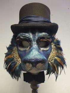 Amazing Lion Mask by Laura Drake Chambers