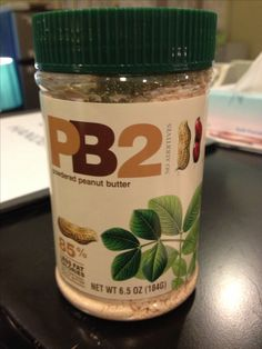 """Powdered peanut butter, just add water! 85% less fat than regular peanut butter. Use during week 5 of post operation diet or whenever adopting a """"healthy low fat diet"""""""