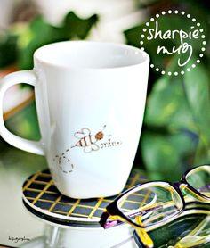 {Valentine DIY} Sharpie Mug