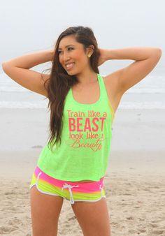 Train like a beast, look like a beauty