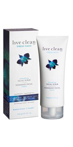 Live Clean Fresh Face Smoothing Facial Scrub