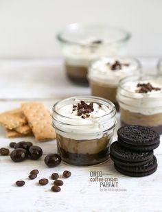 Oreo Cookie Cream Parfait