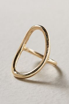 Open Frame Ring #anthrofav #greigedesign