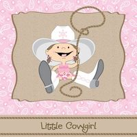Cowgirl baby shower theme is the perfect selection if the parents love the western theme.  You can also invite your guests to come dressed in their western attire.  http://www.modern-baby-shower-ideas.com/western-baby-shower.html Use coupon code: Modern11 and save 11%