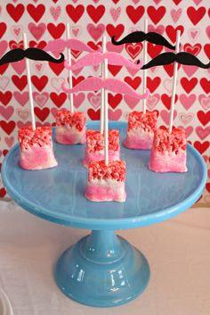 Valentine's Day Party Treats #valentine #treats