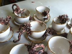 tentacle tea cups