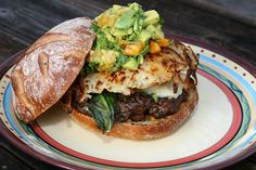 The Big Bad Wolf Burger burger, sandwich recipes