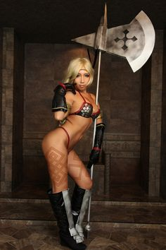 Dragon's Crown Amazon Character Cosplay Picture 05