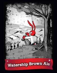 Red Hare's Watership Brown Ale.