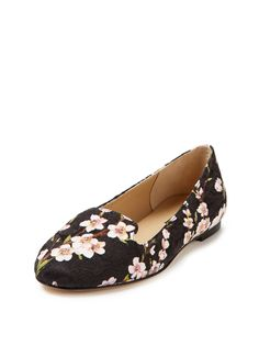 Valley Printed Ballerina Flat by Dolce & Gabbana at Gilt