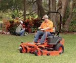 "The ZT Elite has 1/2"" steel front forks, 2"" x 2"" tubular steel framing and 7-gauge solid steel deck powered by high-horsepower engines. These numbers add up to the best value in a residential lawn mower anywhere."