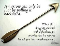 Life is like an arrow