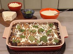 Red Meat Chili Enchiladas from Aaron Sanchez