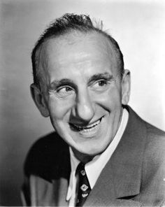 Jimmy Durante,   character actor, great in musicals, comedy's and whatever he did.