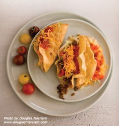 Crispy Beef and Potato Tacos with Norteño Salsa