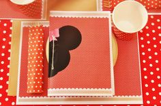 Vintage Minnie Mouse Party via Kara's Party Ideas | Kara'sPartyIdeas.com #Vintage #MickeyMouse #Party #Idea #Supplies (25)